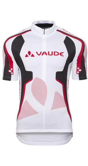 VAUDE Team Kortærmet cykeltrøje Herrer hvid